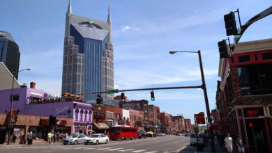 Downtown Nashville Broadway Restaurants